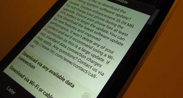 HTC One X and One S new software updates available
